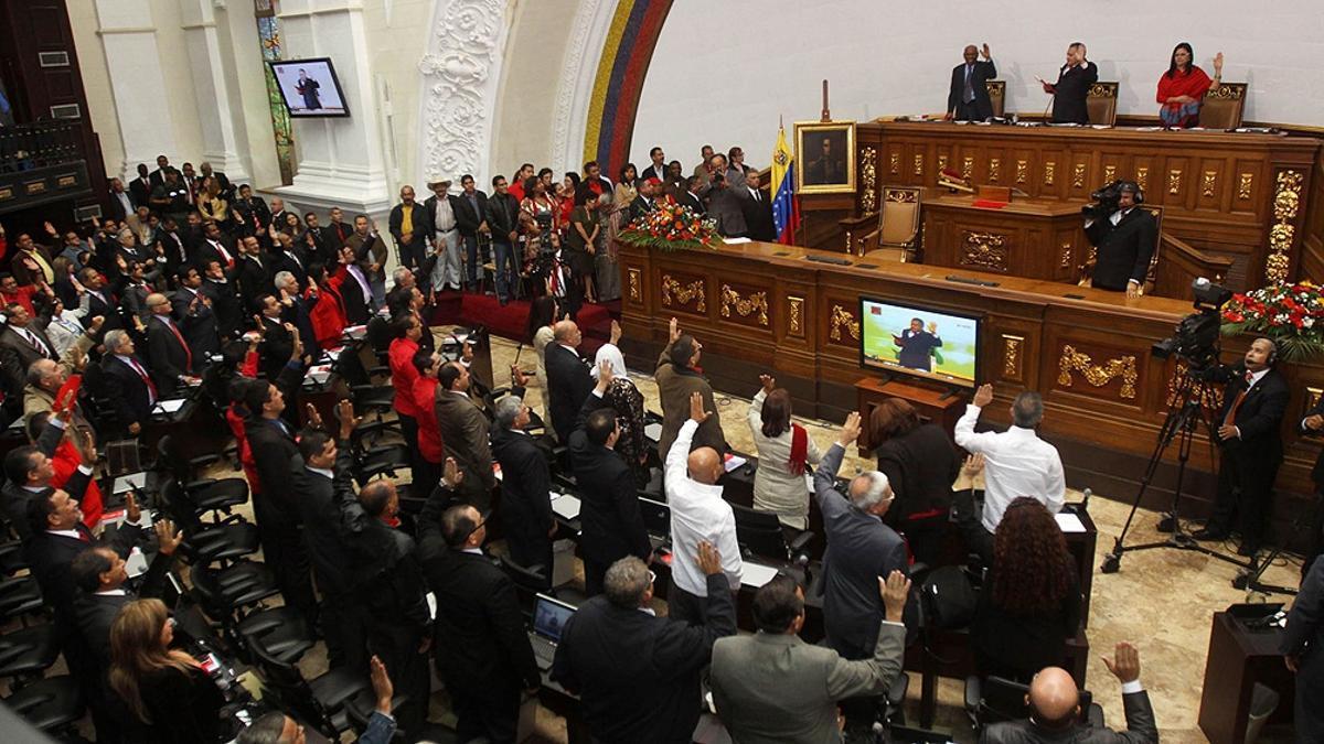 La ceremonia que dio inicio al nuevo mandato de la Asamblea Nacional.
