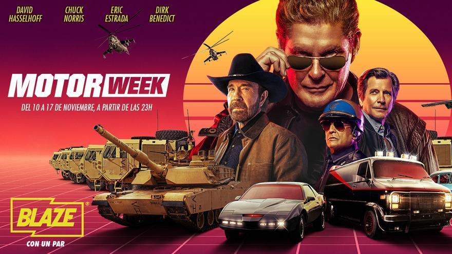 La 'Motor week' de Blaze