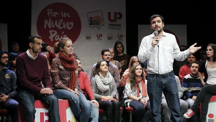Garzón avisa del engaño del voto útil que piden PP y PSOE, que consolida la oligarquía