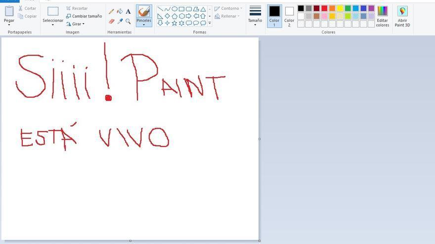 Paint is alive!