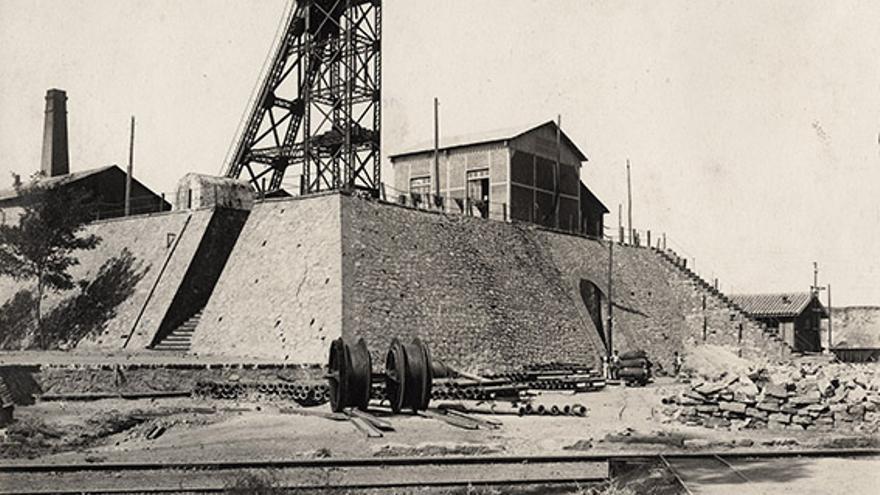 Minas de Peñarroya-Pueblonuevo, pozo nº 3 de la mina de Santa Elena.