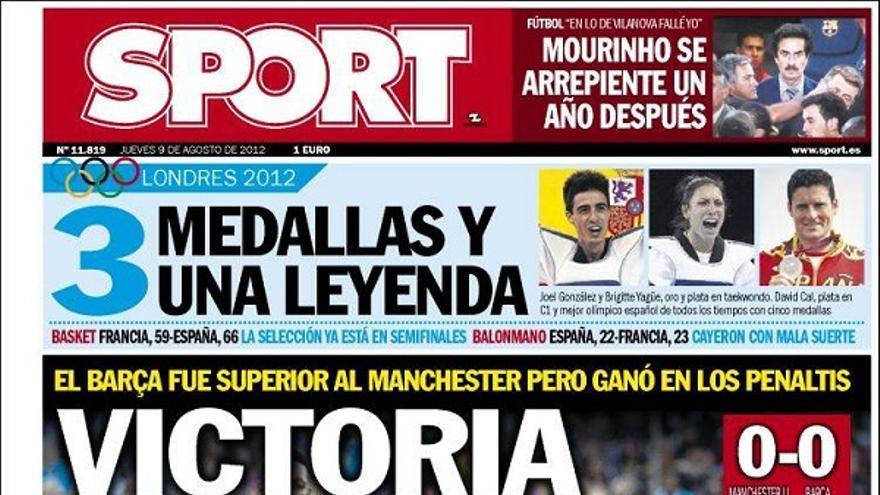 De las portadas del día (09/08/2012) #12