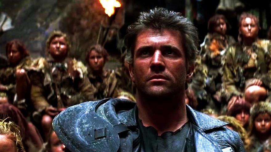 Mel Gibson en 'Mad Max: Más allá de la cúpula del trueno'