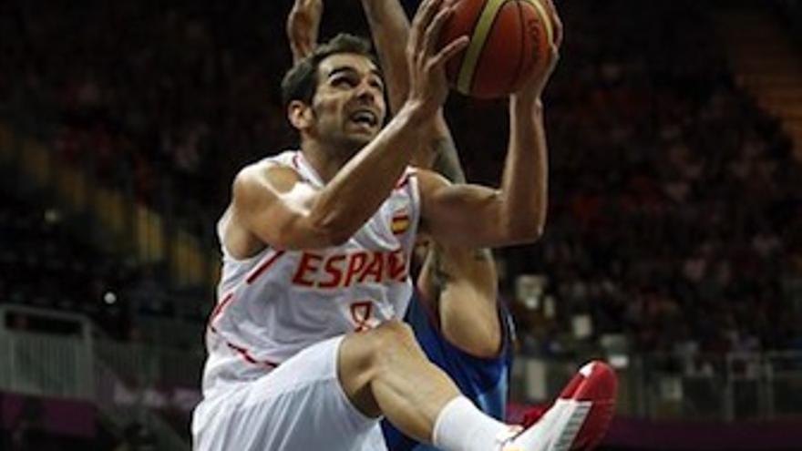 Calderón fue decisivo en la recta final del encuentro. (Europa Press)