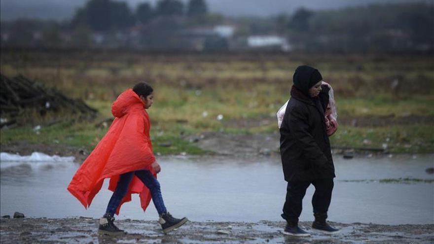 Más de 110.000 refugiados e inmigrantes llegaron a Grecia sólo en noviembre