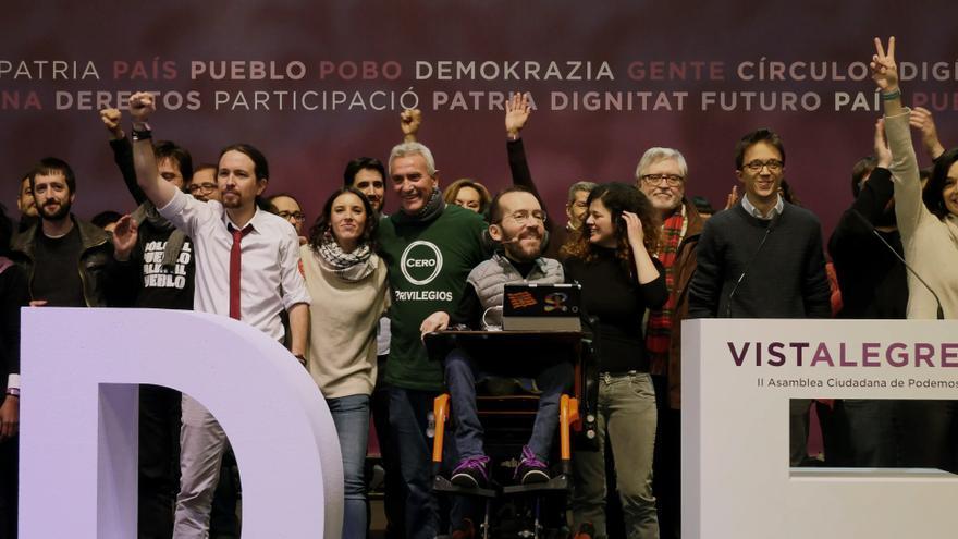 El Consejo Ciudadano de Podemos electo en Vistalegre 2.