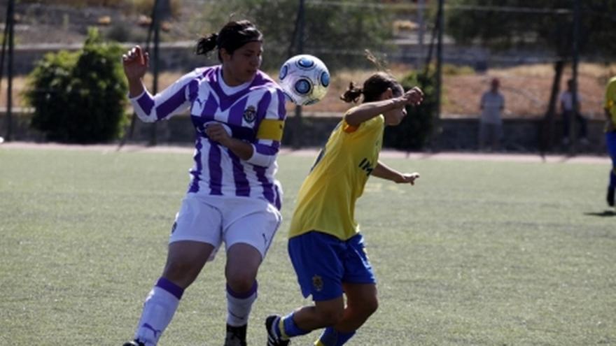 Del partido de la UD Las Palmas y Real Valladolid de la Liga femenina #6
