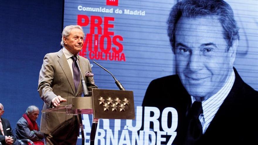 Arturo Fernández duerme mal a sus 87 años porque aún no tiene próxima obra