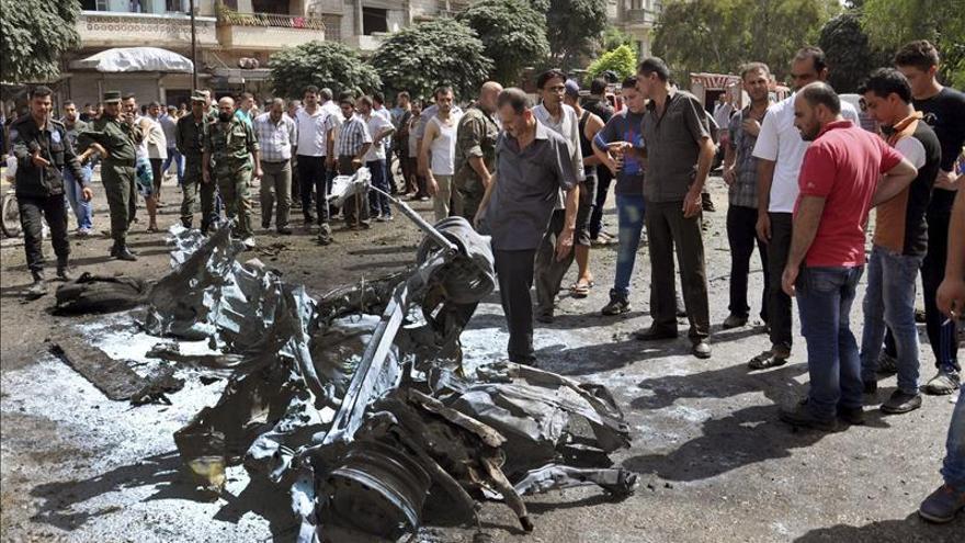 Mueren 17 civiles en un ataque del régimen sirio a un barrio de Homs