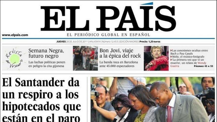 De las portadas del día (28/07/2011) #7