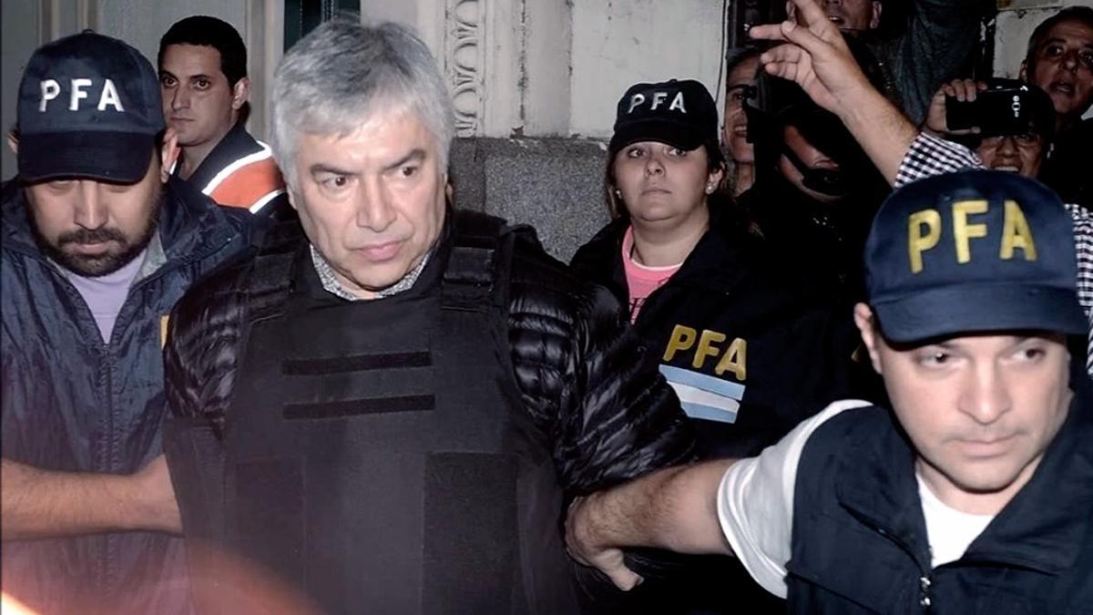 Lázaro Báez, condenado a 12 años de cárcel.
