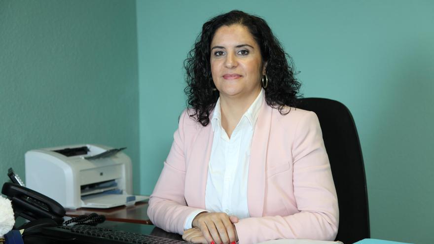 Jovita Monterrey, consejera insular de Asuntos Sociales del Cabildo de La Palma.