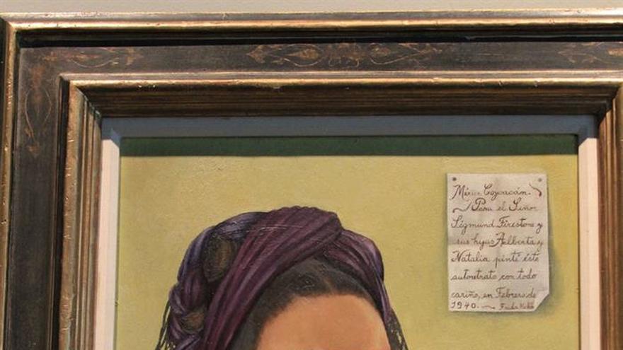 Un autorretrato de Frida Kahlo se expone en EE.UU. por primera vez en 35 años