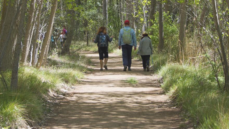 Los paseos por los espacios naturales son una de las propuestas para septiembre