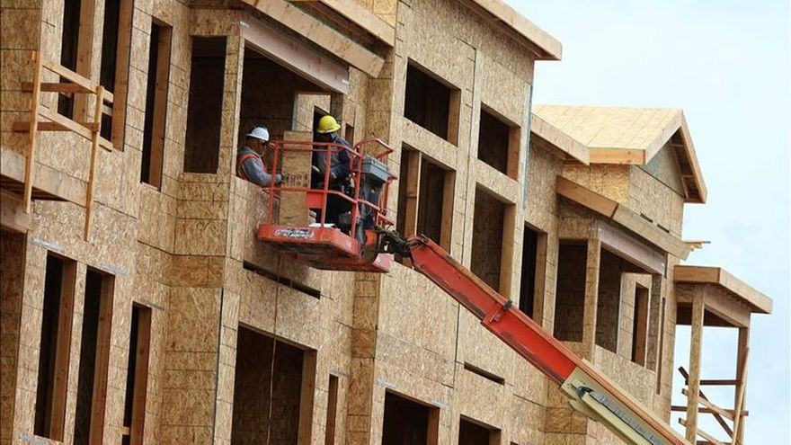 La construcción deja atrás la crisis y crecerá un 2,4 % en 2015 y un 4,4 % en 2016