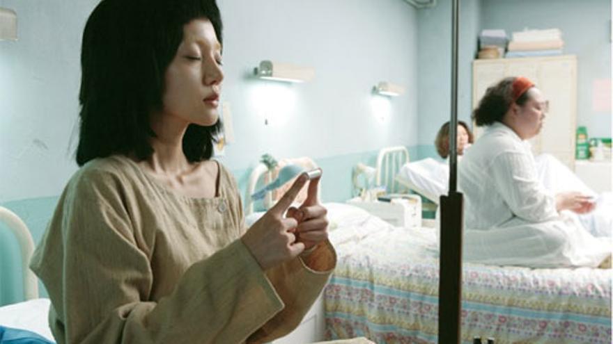 Soy un Cyborg. Fotograma de la película de Park Chan-wook
