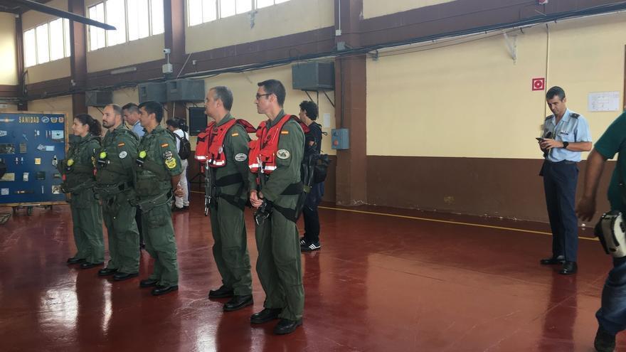 Cospedal subraya la importancia de la labor que realiza el Ejército del Aire en Gando (Gran Canaria)