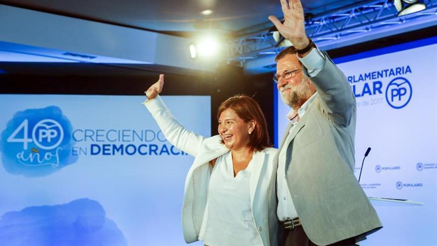Rajoy apela a la unidad contra el terrorismo y la colaboración de las fuerzas de seguridad