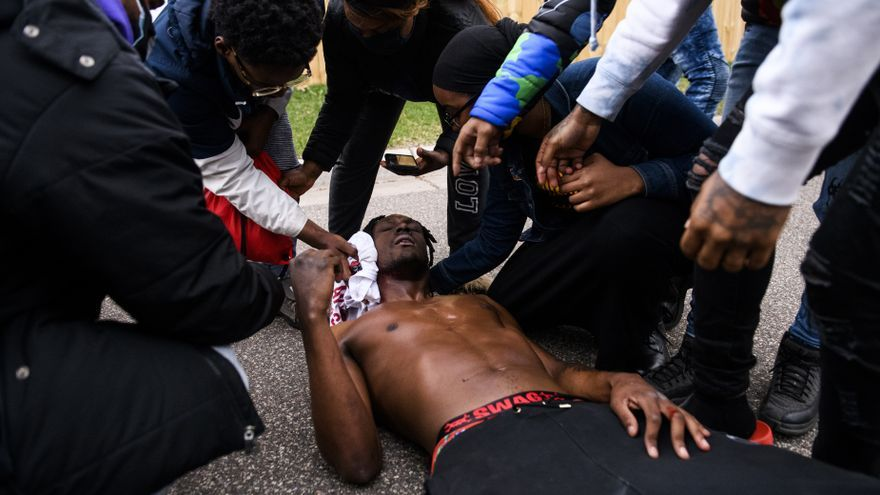 El afroamericano Daunte Wright, fallecido en Minesota tras recibir un disparo en el cuello de un agente de la Policía