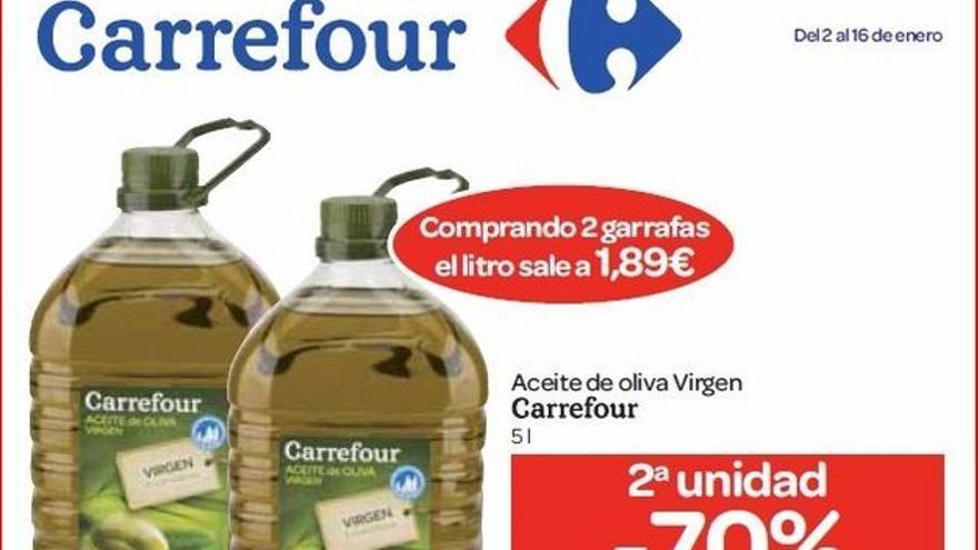 Oferta de Carrefour.