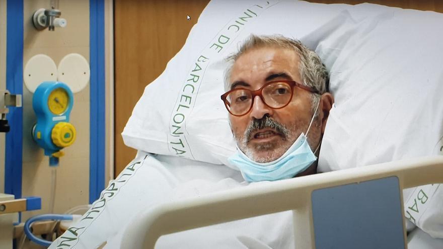 Carles Gonzàlez ha batido el récord de estancia en la UCI del Hospital Clínic de Barcelona.