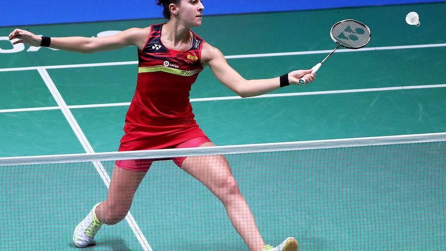 Carolina Marín ha avanzado de momento hasta los cuartos de final del Open de Japón de badminton