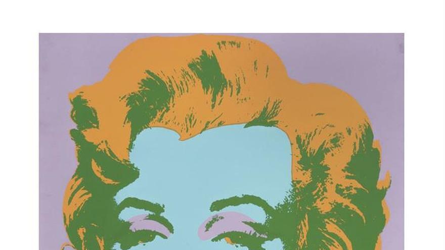 Imagen de Marilyn Monroe firmada por Andy Warhol saldrá a subasta en México