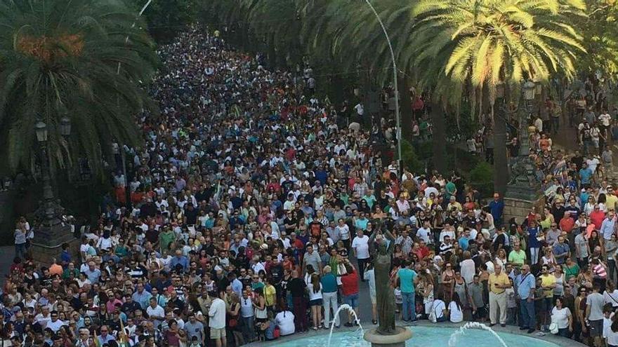 Manifestación del 14 de septiembre en Linares 'TODOS A UNA POR LINARES'