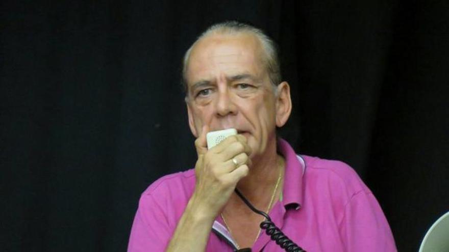 Manuel Fitas, ahora líder de Sindicalistas de Base, antes de CCOO en hostelería