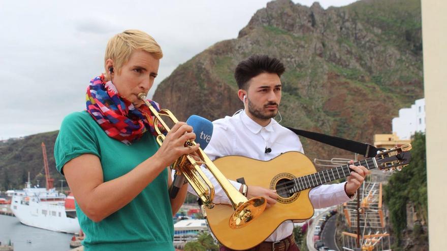 Maite Hontelé y Jesús Martín sienten pasión por la música.
