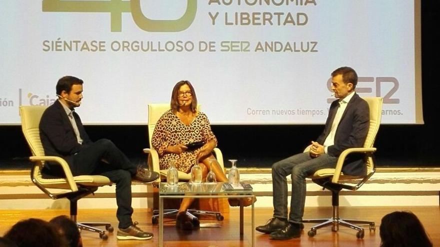 Debate entre Alberto Garzón y Antonio Maíllo.
