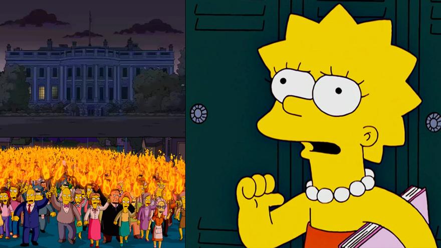Del mensaje de Lisa sobre los abusos policiales al apagón de la Casa Blanca: 'Los Simpson' lo vuelven a hacer
