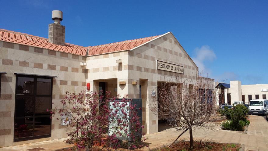 En la imagen, Residencia de Mayores de Puntagorda.
