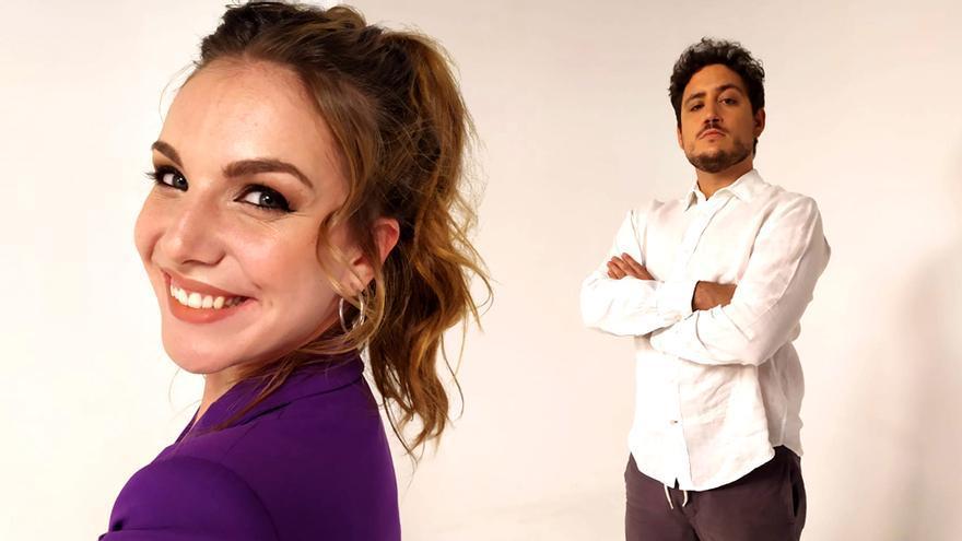 Inés Hernand y Darío Eme Hache, al frente de 'Gen Playz'