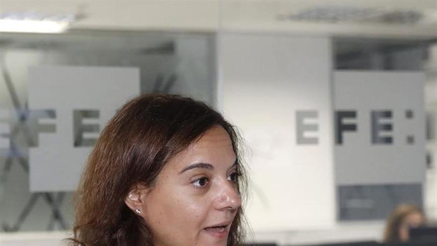 """Sara Hernández: """"No hay que tener miedo a utilizar la palabra nación"""""""