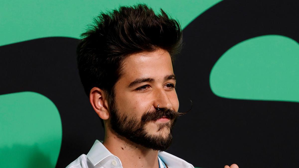 El cantante colombiano Camilo