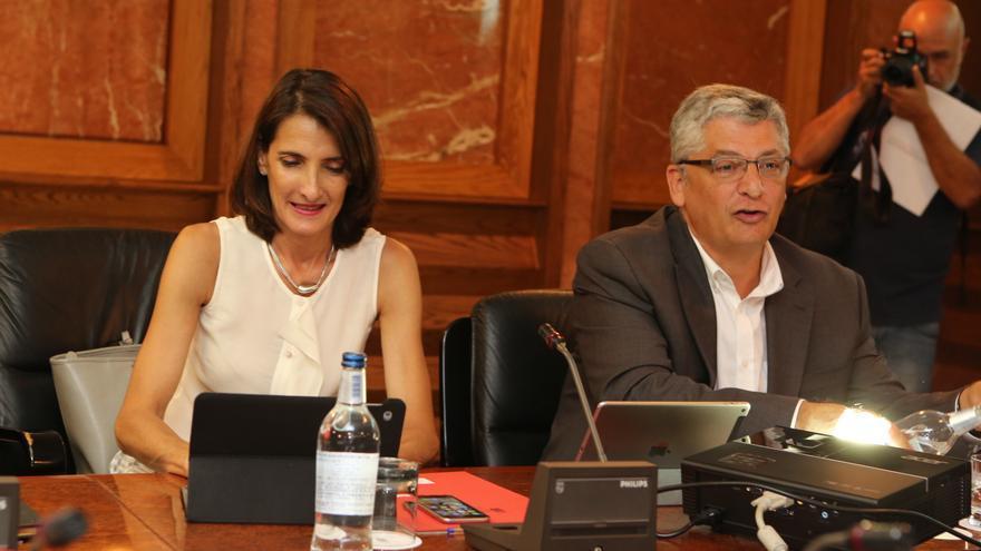 La consejera de Turismo, Deportes y Cultura María Teresa Lorenzo (Alejandro Ramos)