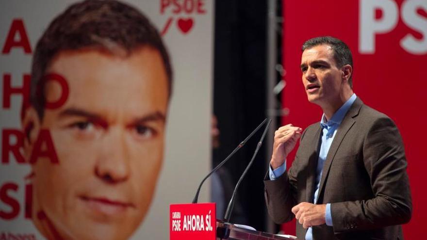 """Sánchez apela a """"romper el muro del bloqueo"""" el 10N para que España avance"""