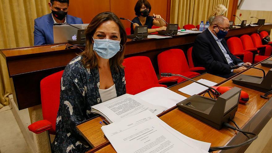 La portavoz del PSOE, Isabel Ambrosio, en el Pleno | MADERO CUBERO