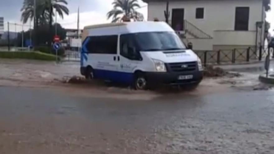 Inundación en Cabra.