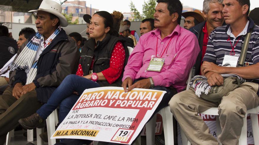 Algunos de los líderes campesinos de Colombia / N. V.