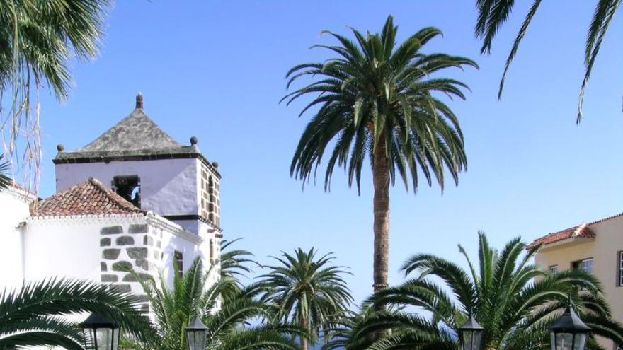 Casco histórico de la Villa de San Andrés, en el municipio de San Andrés y Sauces.