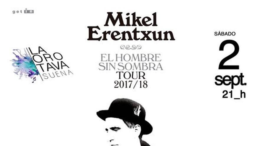 Cartel de la cita musical de este sábado en La Orotava