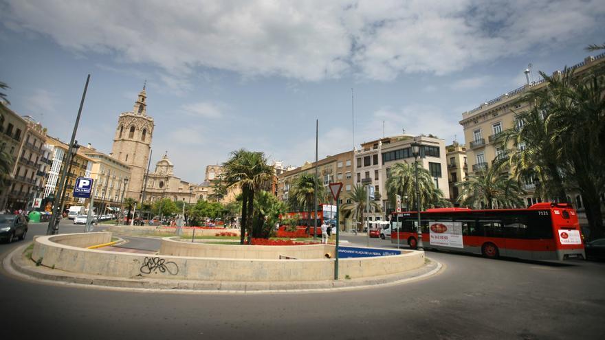 La plaza de la Reina, en la actualidad