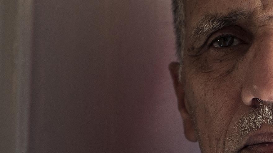 Sidi Mohamed Daddach, el llamado 'Mandela saharaui'.   Eugenio G. Delgado
