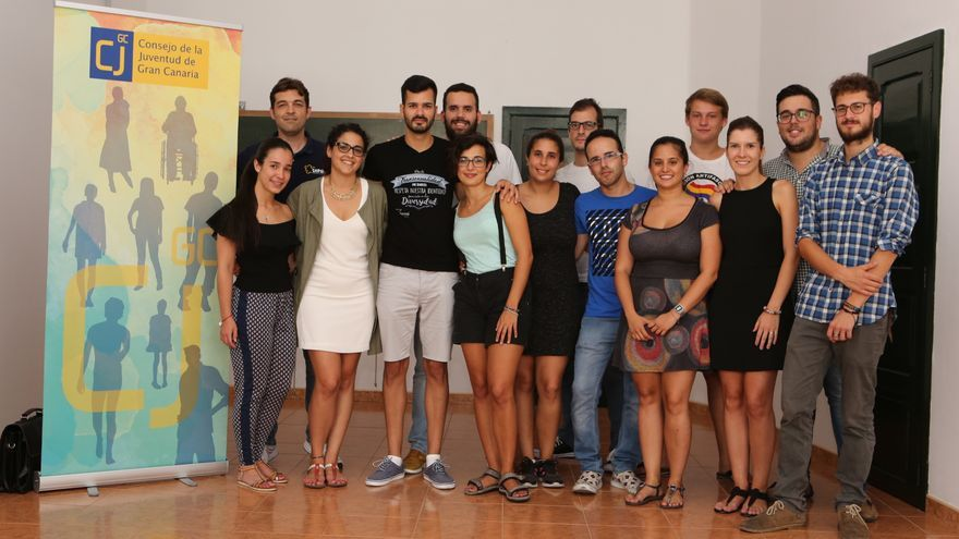 Miembros del Consejo de la Juventud de Gran Canaria
