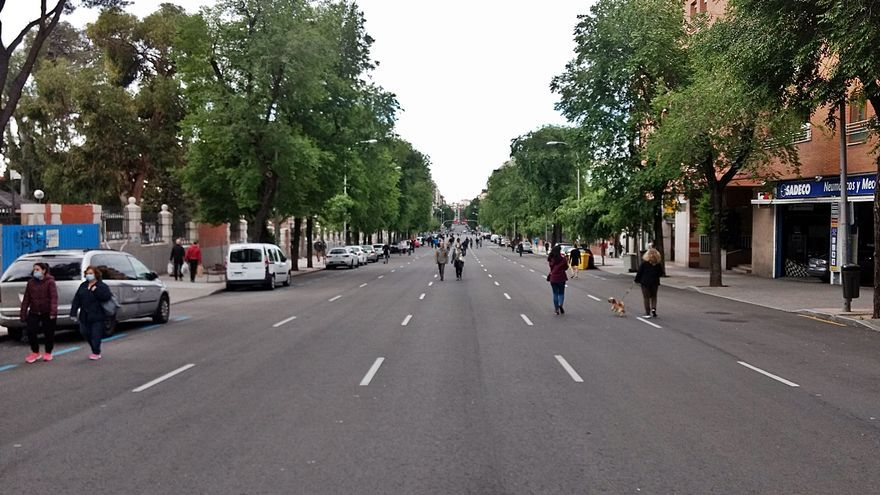 Todos los partidos de Chamberí piden volver a las peatonalizaciones de fin de semana en Bravo Murillo
