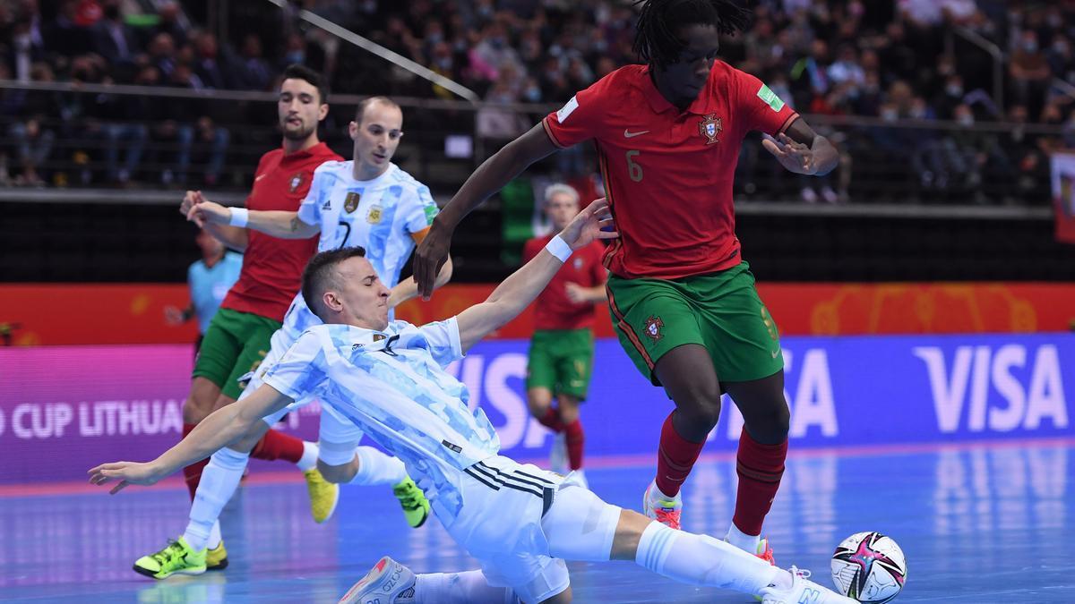 Final del mundial de futsal 2021