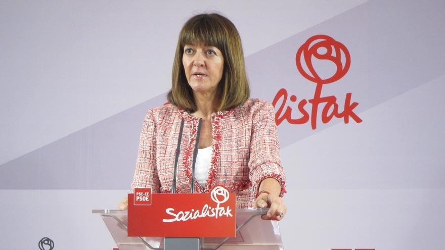 """Mendia (PSE) advierte de que los nacionalistas quieren trasladar a Euskadi la """"división"""" de Cataluña"""