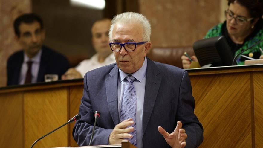 José Sánchez Maldonado, exconsejero de Empleo de la Junta